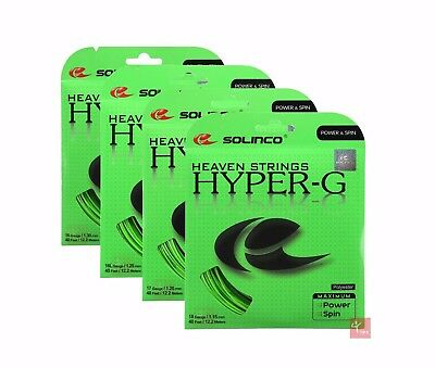 Solinco Hyper-G Tennis String Set (Available in All Gauges)