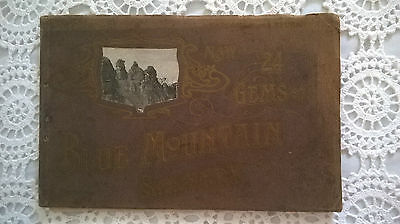 1920's NSW 24 Gems of Blue Mountain Scenery Booklet. A Souvenir of.