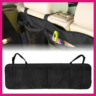New Car Seat Tidy Organiser Travel Storage Multi-Pocket Bag Holder Pouch Black