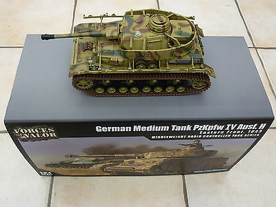 Forces of Valor 1:24 Panzer IV Infrared IR Combat R/C Tank by Waltersons *New*