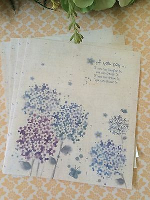 Beautiful Floral Letter Writing Set/ Note paper & Envelopes