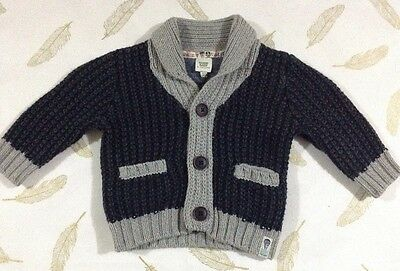 Ted Baker Baby Boys Knit Cardigan Size 00 New