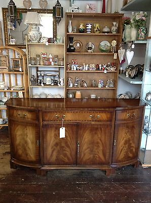 Beautiful Bevan Funnel Mahogany And Yew Breakfront Sideboard