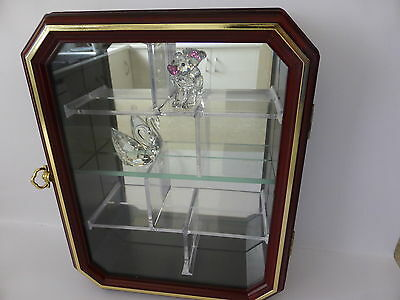 Swarovski Crystal Or Other Collectables Display Cabinet