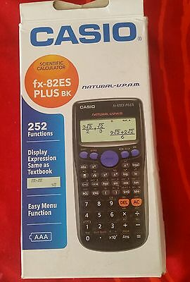 Calculatrice casio fx-82es plus bk