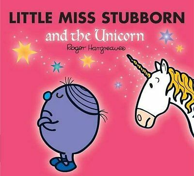 Little Miss Stubborn and the Unicorn Mr. by Roger Hargreaves Paperback Book New
