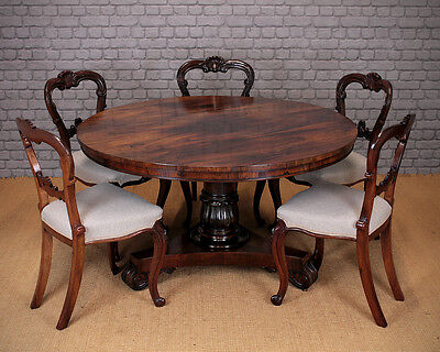 Antique 19th.c. Regency Rosewood Breakfast Dining Table c.1820