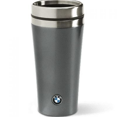 BMW Thermos cup Isobecher Design Space grey 11.83 oz Stainless Steel Plastic