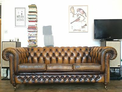 Thomas Lloyd Chesterfield - Long Three Seat Sofa