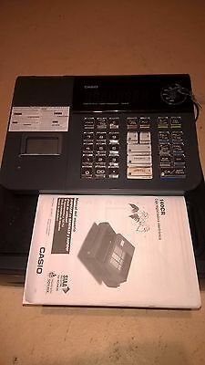 Casio 140Cr-Sc Electronic Cash Register With Manual Very Good Condition