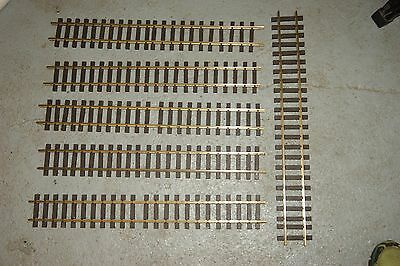 G scale 45mm GOOD USED 6x AML 60cm 2 feet Straight Track FOR GARDEN RAILWAY