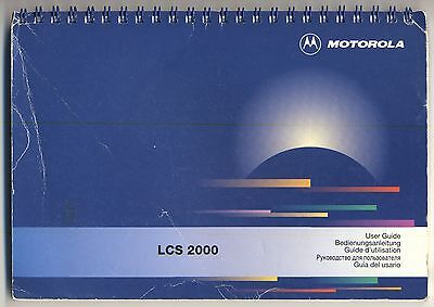 [#125/6/7/8] - Motorola LCS2000 Quick Reference Book
