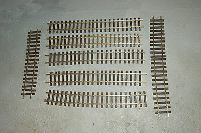 G scale 45cm USED 7x AML 60cm 2 feet Flexible Track FOR GARDEN RAILWAY