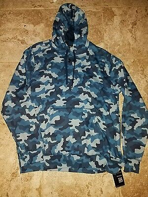 NEW Under Armour Cold Gear Loose Fit Camo Hoodie Size 2XL