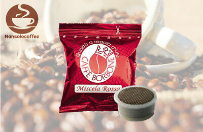 600 Capsule Point Caffe' Borbone Miscela Rossa Red Compatibile Lavazza Point