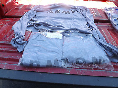New Us Military Issue Lot Of 3 2Xl Long Sleeve Shirts Army Xxl