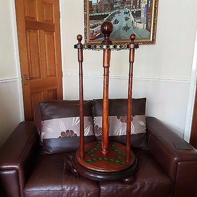 Mahogany Snooker/Billiard Cue Stand