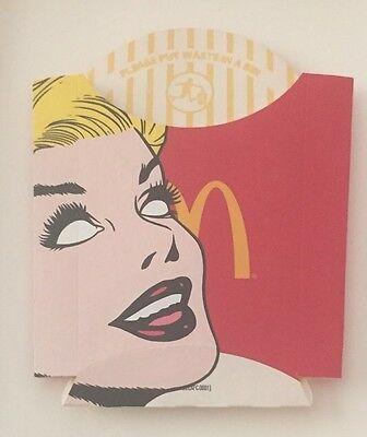 Original Ben Frost 1/1 'Waist' Acrylic On Large Fry Package