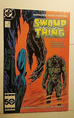 Swamp Thing (1982 2nd Series) #45 DC Comics first print, Alan Moore