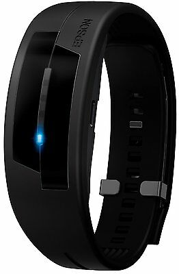 Epson PS-100 Pulsence Heart Rate Activity Monitor Wristband - Black S/M size