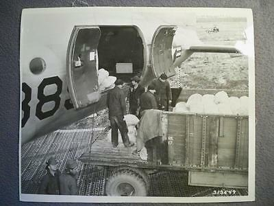 Vintage Cold War 1948 B/w 8X10 Photo Of U.s. Berlin Airlift  #1
