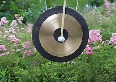 22'' Chau gong and wood mallet China Traditional Gong Tam-tam gong