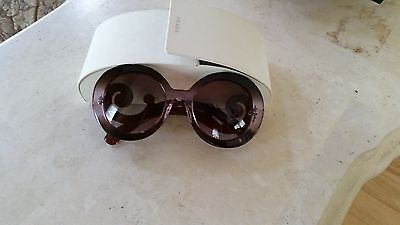Prada Sunglasses $350 For $60 Light Perple With White Case
