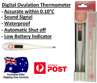 Digital Ovulation Bbt Thermometer Basal Pregnant Pregnancy Waterproof