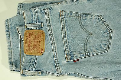 VINTAGE LEVIS 560 MENS BLUE JEANS W34 L32 LOOSE FIT TAPERED LEG 34x32 MEXICO