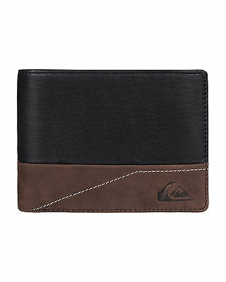 NEW QUIKSILVER™  Mens New Classical II Leather Wallet