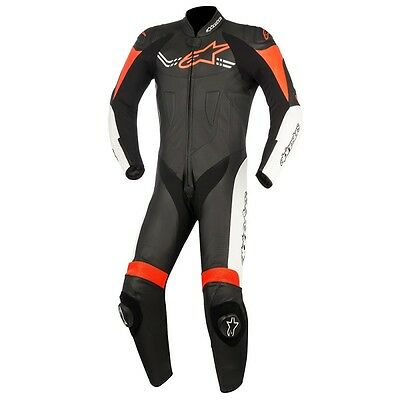 Alpinestars Challenger V2 1 Piece Leather Motorcycle Race Suit Track Leathers