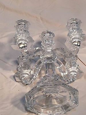 Mikasa Crystal 5 candle Candelabra- limited edition