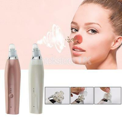 USB Blackhead Zit Acne Remover Vacuum Suction Electric Extractor Cleanser