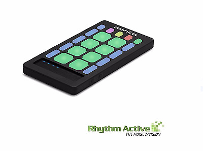 LIVID INSTRUMENTS MINIM WIRELESS/BLUETOOTH MIDI PAD CONTROLLER iOS/ANDROID/OSX