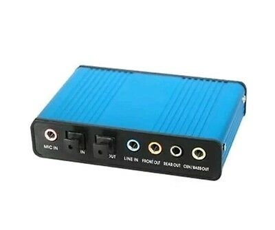 1%s8    SODIAL(R) WMA USB 6 Channel 5.1 External Audio Sound Card S/PDIF