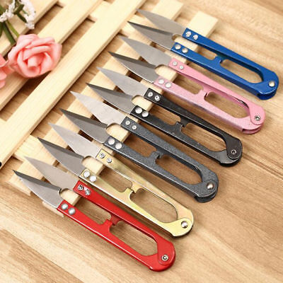 Mini Handheld Sewing Embroidery Thread Trimmer Cutter Snips Scissors