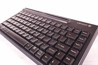 CHERRY POS 83 Programmable Keys Keyboard Magnetic Card Reader Spill Resistant