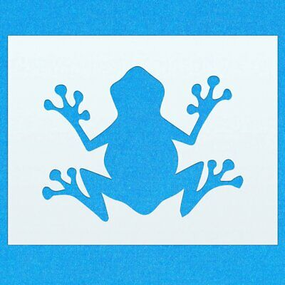 Frog Amphibian Animal Mylar Airbrush Painting Wall Art Stencil two