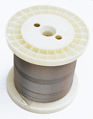 0.8mm 62kg 100 metre spool of Stainless 49 Strand Fishing Wire. Quality