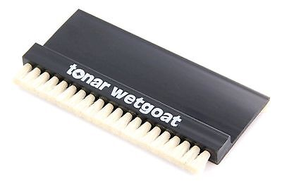 Tonar Wetgoat Record Cleaning Brush, made with Goat Hair for wet cleaning. DECO