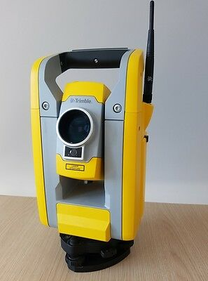 "Great Trimble S3 2"" Robotic Total Station gun with case, great shape!"