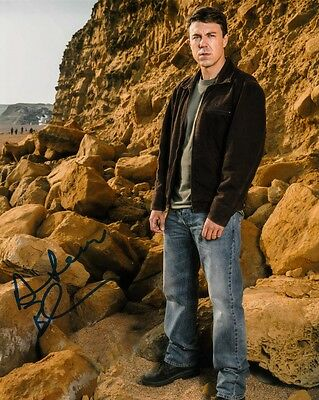 "Andrew Buchan  Autograph Signed 10"" X 8"" Photo (Broadchurch)  Coa     55"
