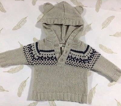 Cotton On Baby Boys Knit Jumper 3-6 Months 00