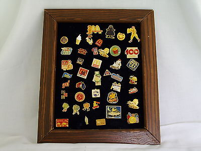 McDonald Pin Collection from 1985 43 pins #512