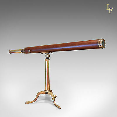 Antique Dollond Library Telescope, Late C18th, Achromatic, Mahogany, English