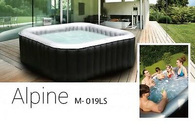 Mspa Inflatable Hot Tub Jacuzzi Spa - Alpine Ls 4+2  M-019Ls