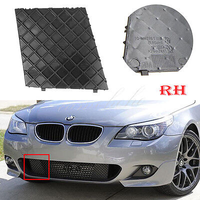 Right For BMW E60 E61 M Sport Front Bumper Cover Lower Mesh Grill Trim