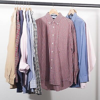 Branded Shirts Ralph Tommy x 10 Job Lot Grade A Vintage Clothing Wholesale