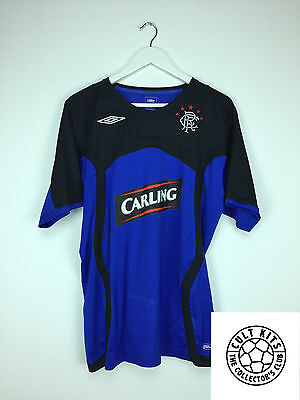 RANGERS 06/07 Training Shirt (L) Soccer Jersey SPL Umbro Football