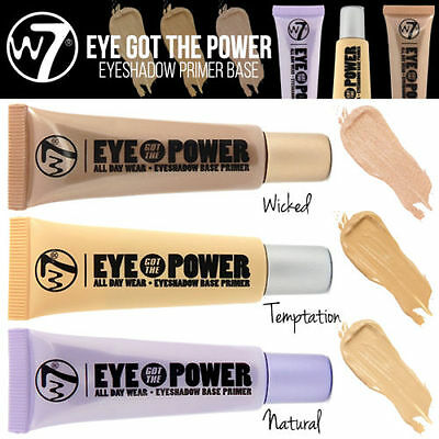 W7 Make UP - Eye Got The Power - Eye Shadow Primer Base Choose Your Shade